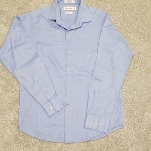 Calvin Klein Button Long Sleeve Shirt Youth